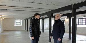 Lina Ekdahl och Mikael Nilsson i Stenladan i Lockmora, Kungsör.