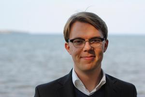 Richard Lindström har komponerat musik sedan han gick i högstadiet. Foto:Linnea Eriksson
