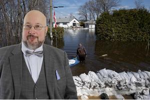 Ottawafloden har svämmat över skriver Patrik Oksanen i ett Kanadabrev hem till Sverige. Oksanen är till vardags politisk redaktör för Hudiksvalls tidning.