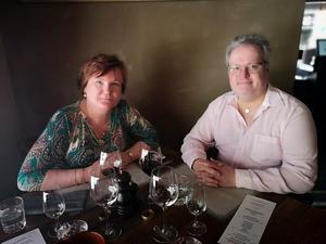 Annica och Peter Malmgren är stammisar på Limone.