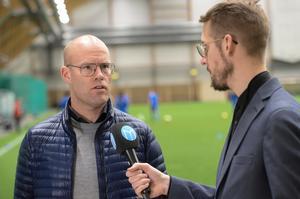 Joel Cedergren ser fram emot tävlingsmatcherna under försäsongen. Norrby står för det första motståndet i Svenska Cupen. Sedan väntar Värnamo och Häcken.