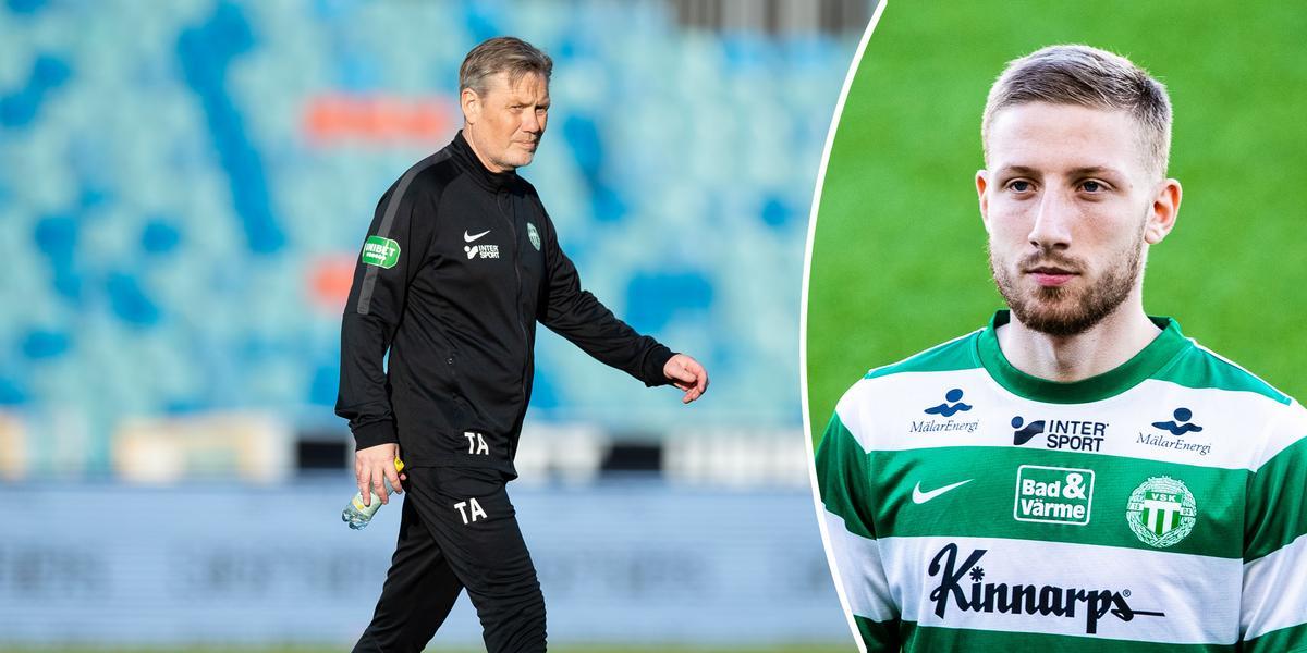"""Flera klubbar jagade VSK-mittfältaren: """"Var beredda att betala"""""""