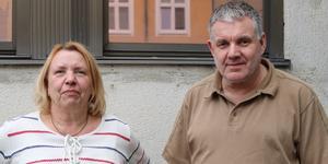 Hamn Kompaniets två handledare Helena Eriksson och Sören Wikström.