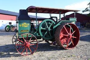 Advance-Rumely Oil Pull G 20-40 från 1924. Tidigare ägd av High Chaparalls grundare Big Bengt.Bild: Bilweb Auctions
