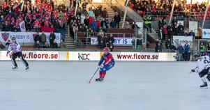 Stina Ysing sekunderna innan avgörandet. Bild: Gert Holmér