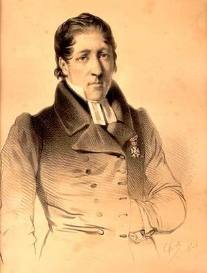 Lars Levi Læstadius 1839. Okänd konstnär.