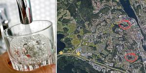 Fotomontage: Arkivbild och Google maps