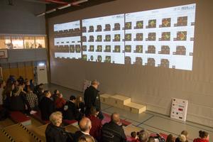Alla skytteresultat är numer digitala och går att följa i realtid på storbildsskärm.