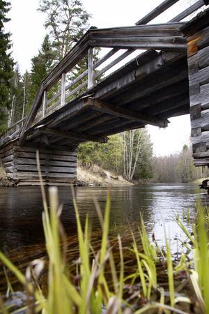 Kulturbron över Svågan i Ängebo renoverades också på 1980-talet .