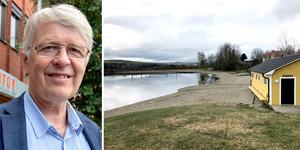 Utvecklingsenhetens chef Stefan Wallsten säger att man har börjat titta på förslaget om en tillgänglighetsanpassad badplats i kommunen, och att det är Vojen i Ånge som just nu är huvudspåret.