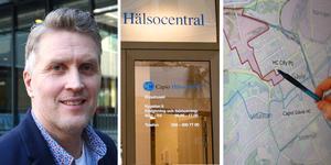Johan Hagsjö, chef för Hälsovalskontoret, har försökt göra den nya områdesindelningen så rättvis som möjligt.