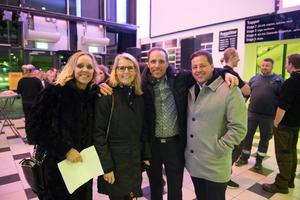 Anneli Halvarsson, Malin Edin, Daniel Lidén och Lars Halvarsson ville verkligen att spelningen skulle bli av.
