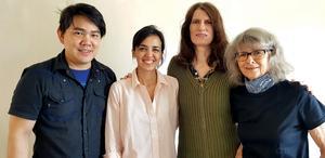 Konstnärerna Poramit Thantapalit, Nadia Martinez, Cecilia Nelson och Monika Camillucci har alla anknytning till New York.