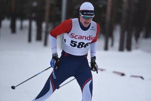 Samuel Oskarsson från SK Leksand slutade sexa i H 17-18.
