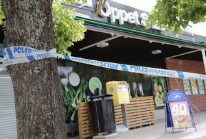 Coop-butiken på Ludvika Gård i Ludvika rånades av tre maskerade personer vid 21.30-tiden måndagen den 12 augusti.