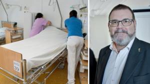 """Oppositionen till motattack mot regionledningen om vårdplatserna – Jonny Lundin (C): """"Fullkomligt rimligt"""""""