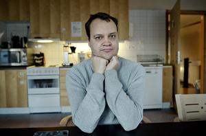 Andreas Vestin Söderberg är orolig för att han inte ska kunna träffa sina vänner i Kramfors på kvällar och helger i framtiden, om förslaget går igenom.