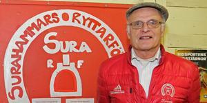 Svante Bergstrand är Årets eldsjäl inom Västmanlands ridsport.