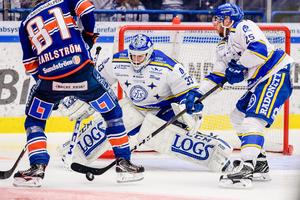 Axel Brage gjorde en stormatch i LIF-målet. Foto: Jonas Ljungdahl/Bildbyrån