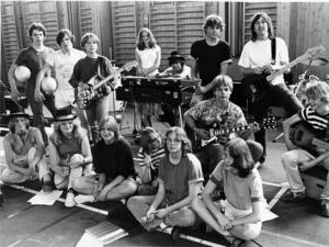 Här är bandet i början på sin karriär. Foto: HGbild/arkiv
