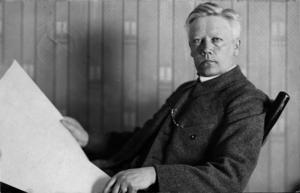 Läkaren Herman Lundborg var chef för Rasbiologiska institutet. Foto: Okänd