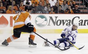 Grossmann har knappast tagit sig till NHL på grund av sitt offensiva spel. Slå in sökordet