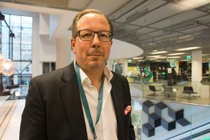 """Mats Eriksson, regionchef på fastighetsbolaget Kungsleden, jobbar hårt för att öka attraktionskraften på Finnslätten. """"Vi vill göra det till en plats som gör det enkelt att arbeta och leva"""", säger han."""