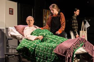I pjäsen vaknar mamman efter en lång tid i koma, efter att alla hennes barn samlats för att ta ett sista farväl.