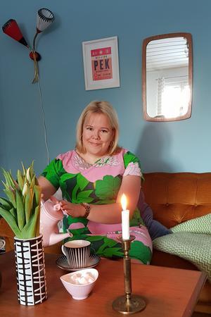 Eleonore Lundkvist från Salsåker bor idag i Västerås.