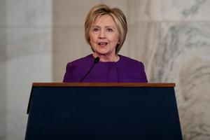 Hillary Clinton.Bild: Evan Vucci