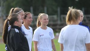 Sandra Kokk gjorde sitt första division 1-mål mot Gustafs.