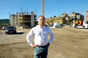 Olof Nyberg är vice vd på Näringslivsbolaget.
