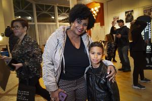 Joseline och Alexander Nordlander. Alexander har Benjamin Ingrosso som sin stora idol.