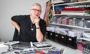 Textilkonstnären Renée Rudebrant från Norrtälje