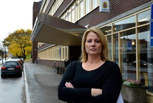 Veronica Andersson, gruppchef på avdelningen för grova brott vid polisen i länet.