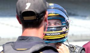 Marcus Ericsson startar från 13:e plats i Indy 500 nästa söndag.