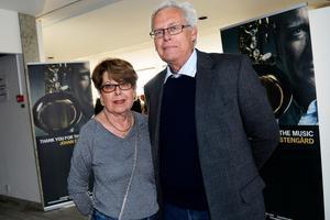 Monica Lindström och Björn Werner kom för att de sett förra föreställningen som de tyckte var helt otrolig.