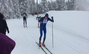När långloppscupen inleddes den 7 januari med Axa ski marathon i Orsa slutade Pontus Nordström 6:a. FOTO: Privat