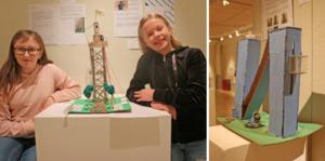 Clara Köster och Tindra Scheffer deltar i utställningen.