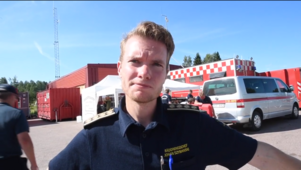 Räddningsledare Johan Szymanski