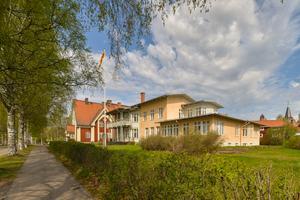 St Persgården i Leksand är en av Gunnar Mattssons skapelser. Foto: Arild Vågen/Wikimedia commons