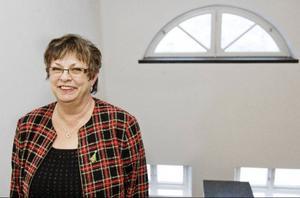 """""""Det är en förmån att vara förtroendevald"""", säger Harriet Jorderud som från 1 januari blir landstingsstyrelsens ordförande efter Robert Uitto."""