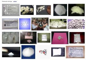 På nätet finns många återförsäljare av våldsdrogen MDPV.