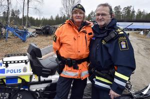 Lena Nilsson och Bengt Sivertsson är redo för vintern på fjället.