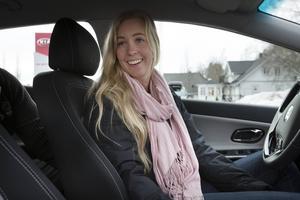 Matilda Forslin-Jonsson köpte till slut en fabriksny dieselbil. En av fördelarna med det var bland annat att den som miljöbil är skattebefirad under fem år.