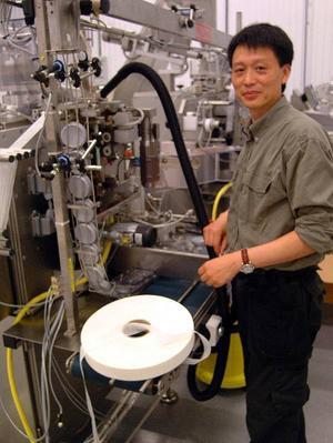 Snusabs produktionstekniker Geng Chang följer med till GN Tobaccos nya verksamhet i Bispgården.Foto: Ingvar Ericsson