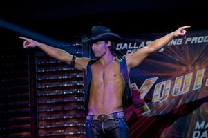 "Matthew McConaughey. Spelar strippklubbsägaren Dallas i ""Magic Mike""."
