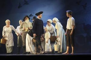 Historia som teater är återkommande i Hälsingland. I år var det premiär för 1721, om ryssarnas bränning av Hudiksvall.