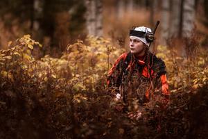 Elin Roos, 19 år gammal, sköt under torsdagen två älgar.