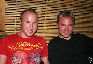 Tabazco. David och Fredrik